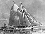 Schooner Yacht 'Sylph', click for larger image