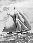 Sloop Yacht 'Eclipse', click for larger image