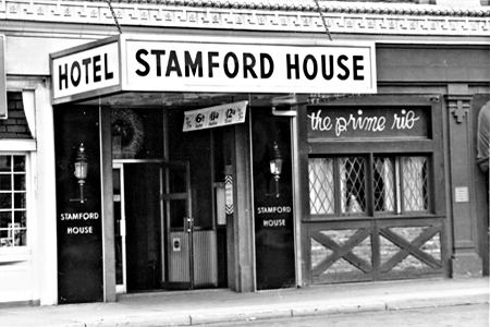 Stamford House Hotel entrance