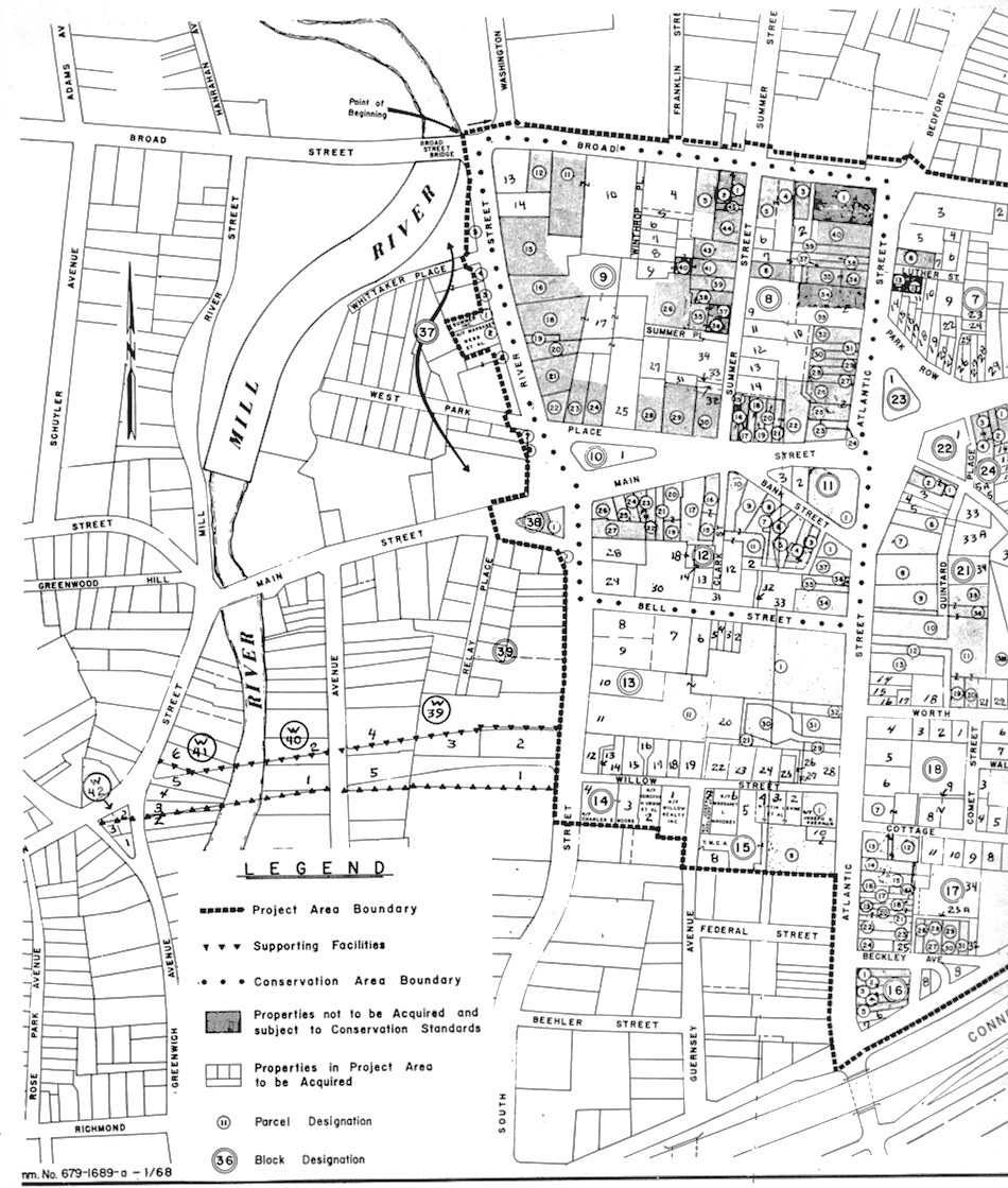 Urban Renewal Area Maps,The Urban Redevelopment Commission: Map Section 2