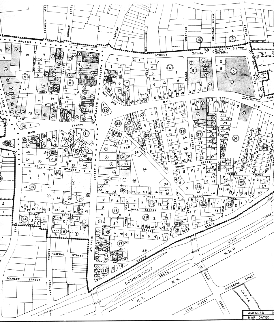 Downtown Stamford Urban Renewal maps 1967, Section 3